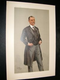 Vanity Fair Print 1900 Sir F. Treves, Doctor